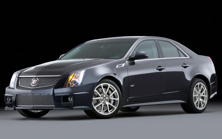The Cadillac CTS - 2009 Best Resale Winner - K Smash Repairs