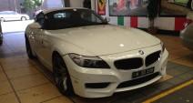 BMW Z4 - Car Paint Scratch Repairs