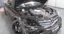 Mercedes C63 2012 - Car Smash Repairs