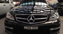Mercedes C63 2013 - Car Collision Repairs & Repaint